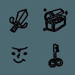 シンプルなRPG絵文字