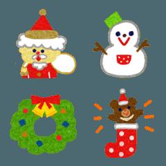 クリスマスのメッセージに添える絵文字