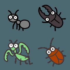 マイルドな昆虫絵文字