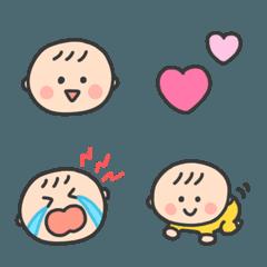 かわいい♡赤ちゃん 絵文字 その2