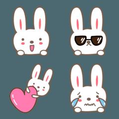 大人かわいいうさぎの絵文字 rabbit emoji