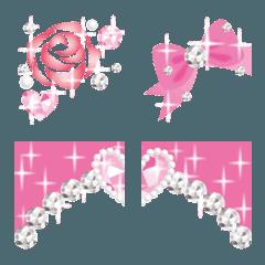 姫デコレーションキラキラ絵文字