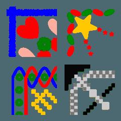 幾何学模様のフレーム
