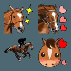 馬、うま、ウマの絵文字