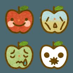 りんごと梨の絵文字