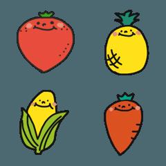 お野菜さんと果物さん