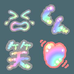 ふわふわ手書き絵文字(記号・顔文字・漢字)