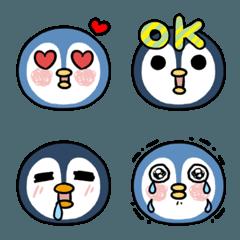 penguin x2 -expressive face