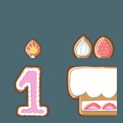 おはるのクッキー絵文字