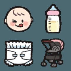 【育児】ママと赤ちゃんの絵文字