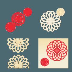 絵文字【花和柄】2