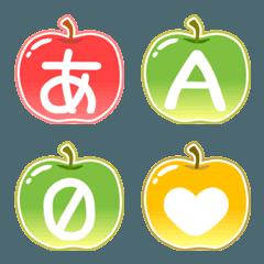 りんご絵文字