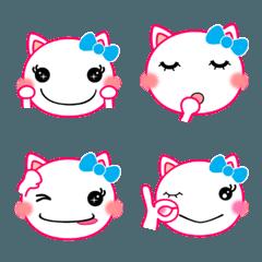 日常会話に使える可愛い猫ちゃん絵文字