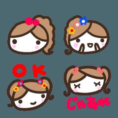 『女の子』使いやすい顔文字