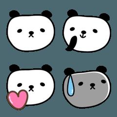 大人かわいいパンダの絵文字 panda emoji