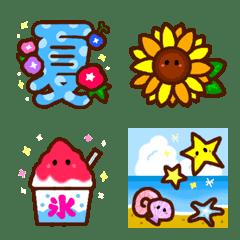 毎年使える夏の可愛い絵文字