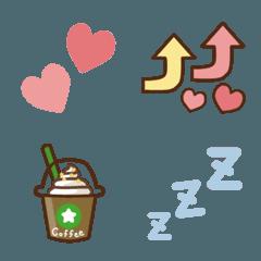 カラフル日常絵文字