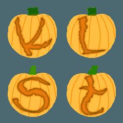 うわー! かぼちゃ(A-Z)&かわいい絵文字