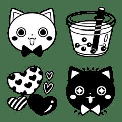 白猫さんと黒猫さん