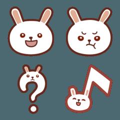 ウサギのらぱんちゃん絵文字