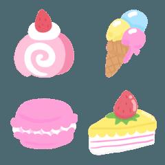 Sweets pastel emojis