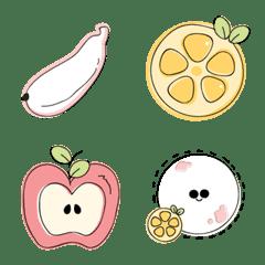 Cute fruits emoji :)