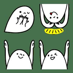 ぴょこっと繋がる顔絵文字4