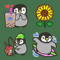 夏☆ペンギン絵文字