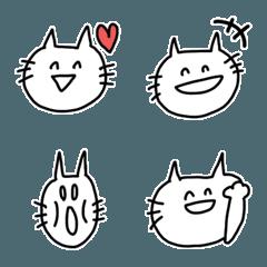 ゆる顔ねこ絵文字(2)
