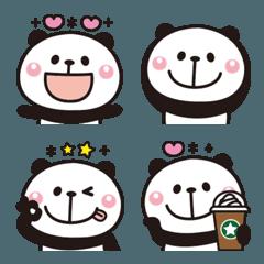 大人かわいい♡パンダの絵文字3