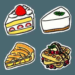 ケーキの絵文字