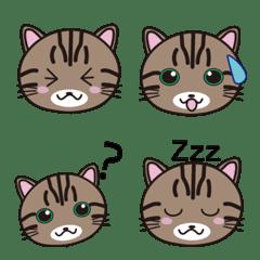 キジトラ猫☆絵文字