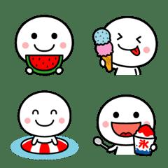 チビまる☆絵文字【夏】