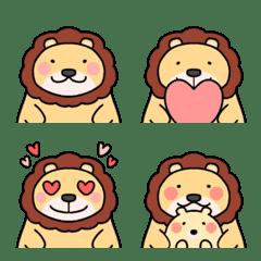 かわいいライオンさん絵文字