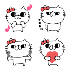 にゃんこりぼん絵文字(5)