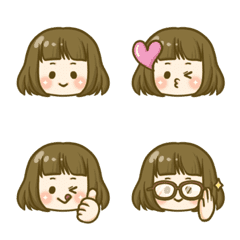 髪型別オンナノコ(ボブちゃん)