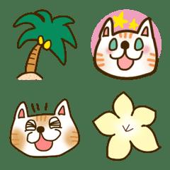 福よこいこい招き猫の絵文字2