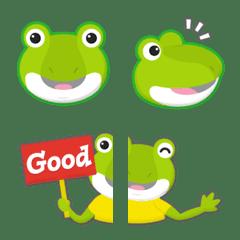 毎日使える カエル 絵文字