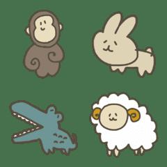おねむ動物たち