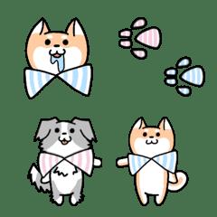柴犬&ボーダーコリーの 【絵文字】