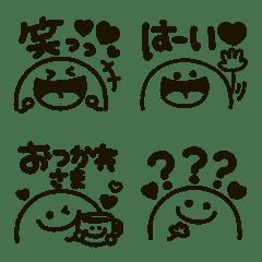 モノクロmix★デカ文字メッセージ