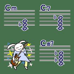 まじ☆楽譜作成11 (和音2)m,7,m7コード