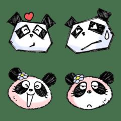 Mr. Panda x Ms. Panda