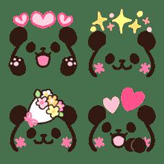 チビかわ♡顔文字9 パンダ