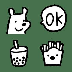 シロクマのシンプル絵文字