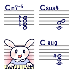 まじ☆楽譜作成13(和音4)-5,sus4,Augコード