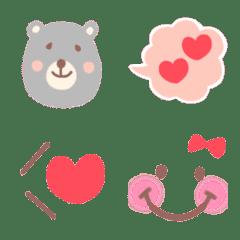 大人可愛い♡くま絵文字♡