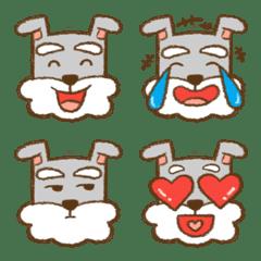 Schnauzer Bubble-emoji