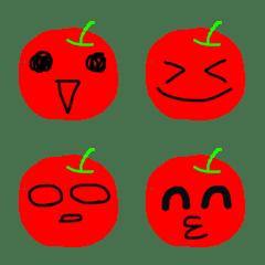 りんごの絵文字だよ