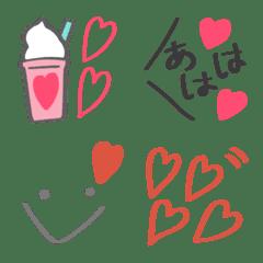 大人シンプル♡マーカー絵文字